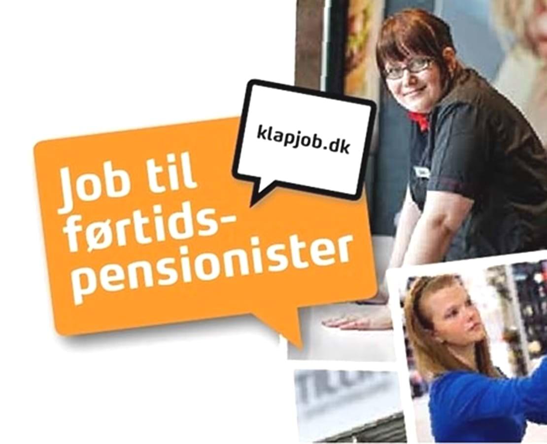 KLAPjob - job til førtidspensionister